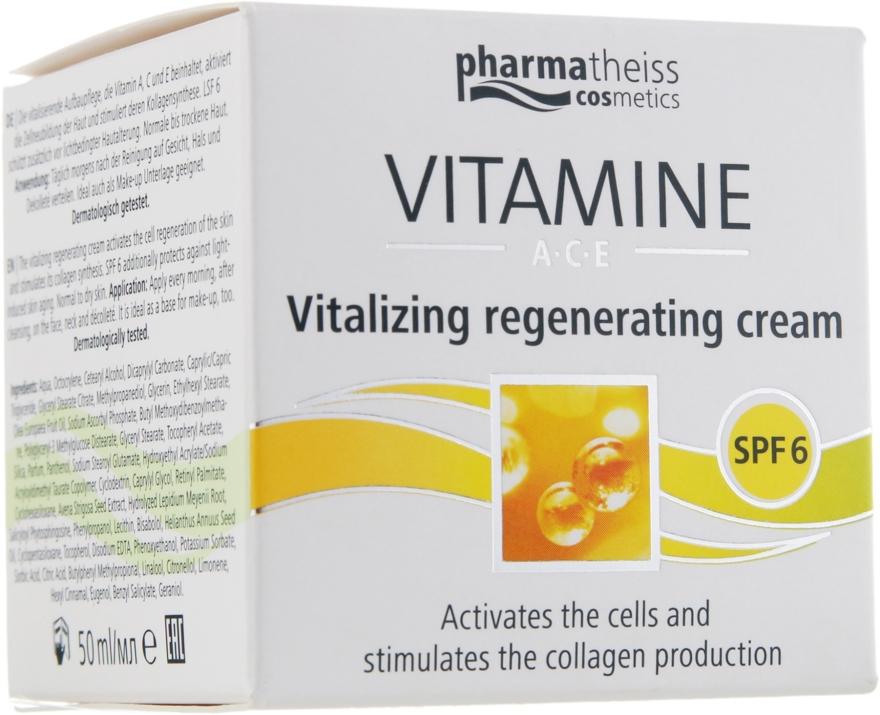Крем для восстановления и сияния кожи с SPF 6 - D'oliva Pharmatheiss Cosmetics Vitalizing And Regenerating Skincare With SPF 6