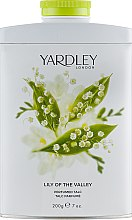 Духи, Парфюмерия, косметика Парфюмированный тальк - Yardley Lily Of The Valle Perfumed Talc