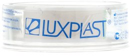 Фиксирующий пластырь из нетканого гипоаллергенного материала, 5м х 1.25см - Luxplast — фото N1