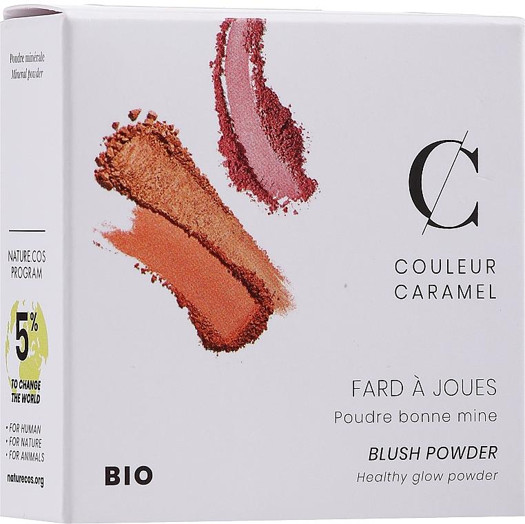 """Румяна компактные """"Совершенство"""" - Couleur Caramel Blush Powder"""