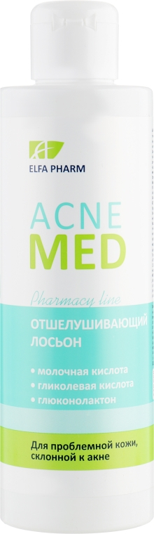 Отшелушивающий лосьон для лица - Elfa Pharm Acne Med