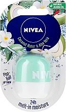 Духи, Парфюмерия, косметика Бальзам для губ - Nivea Pop-Ball Coconut Water & Aloe Vera Lip Balm
