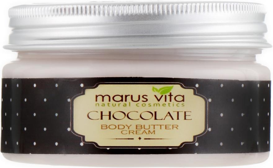 "Крем-масло для тела ""Шоколад"" - Marus Vita Body Cream — фото N2"