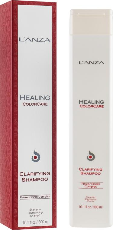 Шампунь глубокой очистки для окрашенных волос - L'Anza Healing ColorCare Clarifying Shampoo
