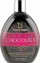 Духи, Парфюмерия, косметика Крем для загара в солярии с бронзантами и экстра тинглами - Tan Incorporated Spicy Black Chocolate 200X