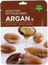 Духи, Парфюмерия, косметика Маска для лица с аргановым маслом - Amicell Pascucci Good Face Eco Mask Sheet Argan