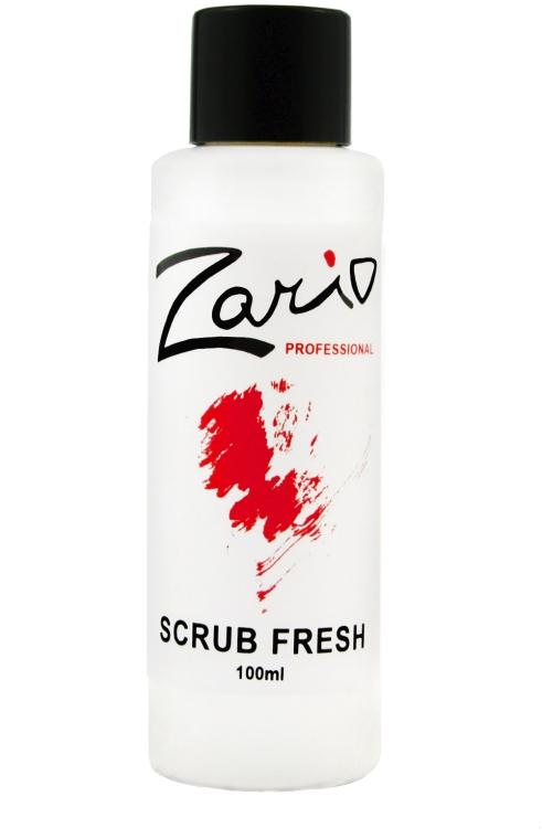 Обезжириватель ногтей - Zario Professional Scrub Fresh