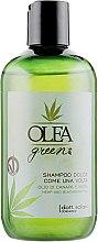 Духи, Парфюмерия, косметика Шампунь для волос с маслом конопли и ежевики - Dott. Solari Olea Green Shampoo