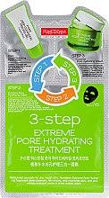 "Духи, Парфюмерия, косметика Трехступенчатый комплекс ""Очищающий уход"" - Purederm 3-Step Extreme Pore Hydrating Treatment"