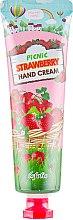Духи, Парфюмерия, косметика Клубничный крем для рук - Esfolio Picnic Strawberry Hand Cream