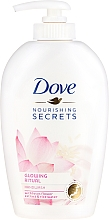 """Духи, Парфюмерия, косметика Жидкое мыло для рук """"Цветок лотоса"""" - Dove Nourishing Secrets Glowing Ritual Hand Wash"""
