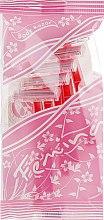 Парфумерія, косметика Жіночі одноразові дволезвійні станки для гоління - Treet Femina