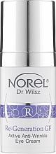 Духи, Парфюмерия, косметика Активный крем против морщин для зоны вокруг глаз - Norel Re-Generation GF Active Anti-Wrinkle Eye Cream