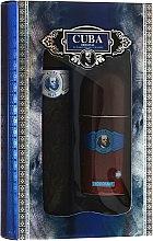Духи, Парфюмерия, косметика Cuba Blue - Набор (edt/100ml + deo/50ml)