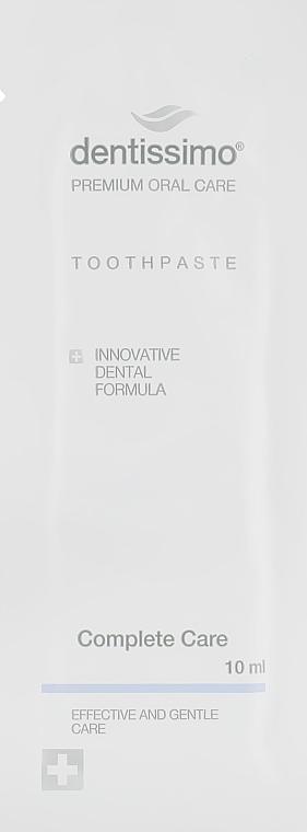 "Зубная паста ""Комплексный уход"" - Dentissimo Complete Care (пробник)"