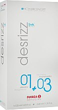 Духи, Парфюмерия, косметика Система для выравнивания чувствительных волос - HairConcept 01 Force 2 Sensibles+03 Neutralizan