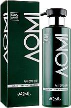 Духи, Парфюмерия, косметика Шампунь для волос с экстрактом зеленого чая - Aomi Green Tea Scalp Sap Shampoo