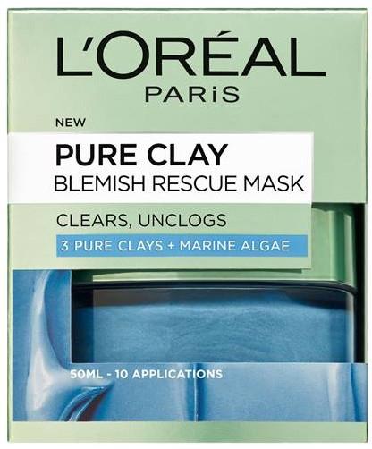 """Маска для лица """"3 глины и морские водоросли"""" - L'Oreal Paris 3 Pure Clays and Marine Algae Mask"""