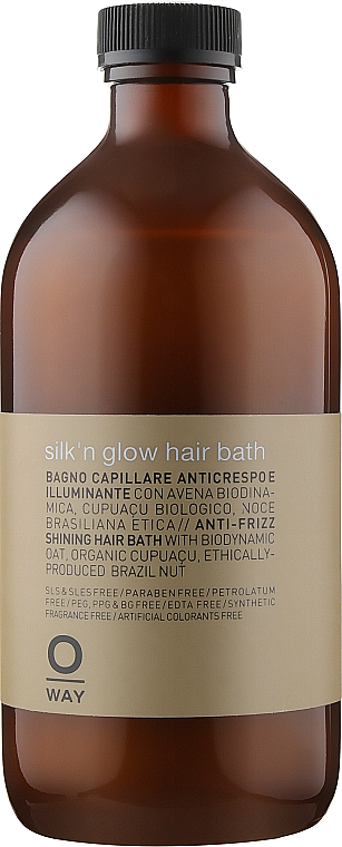 Шампунь для волос с анти-фриз эффектом - Oway Silk´n Glow Hair Bath