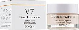 Духи, Парфюмерия, косметика Крем для лица увлажняющий - Bioaqua V7 Deep Hydration Cream