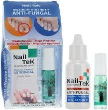 Духи, Парфюмерия, косметика Набор - Nail Tek Maximum Strength Anti-Fungal (serum/10ml + oil/3.4ml)