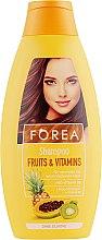 Духи, Парфюмерия, косметика Шампунь для волос c фруктами - Forea Fruits & Vitamins Shampoo