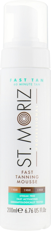 Мусс для экспресс-загара - St.Moriz Fast Tan Mousse