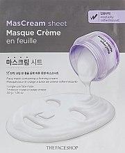 Духи, Парфюмерия, косметика Успокаивающая маска для лица тканевая - The Face Shop Intense MasCream Sheet Friming
