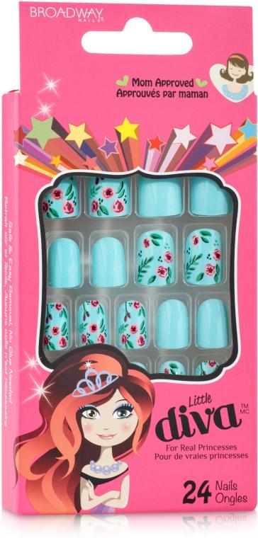 Детский набор накладных ногтей - Kiss Broadway Nails Little Diva