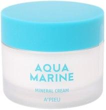 Духи, Парфюмерия, косметика Увлажняющий минеральный крем - A'pieu Aqua Marine Mineral Cream