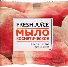 "Духи, Парфюмерия, косметика Мыло косметическое ""Персик и инжир"" - Fresh Juice Peach & Fig"