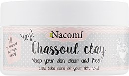 "Духи, Парфюмерия, косметика Глиняная маска для лица ""Марокканская"" - Nacomi Ghassoul Clay"
