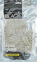 Духи, Парфюмерия, косметика Мочалка массажная для мужчин - Suavipiel Black Men Sisal Glove