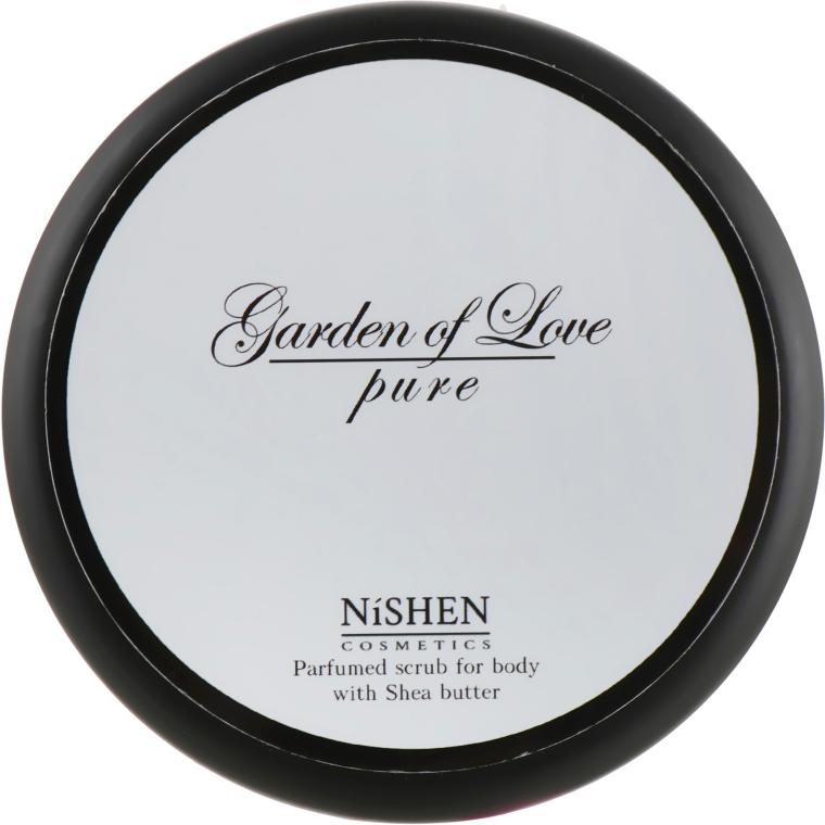 Парфюмированный скраб для тела - Nishen Garden Of Love Pure Parfumed Scrub For Body