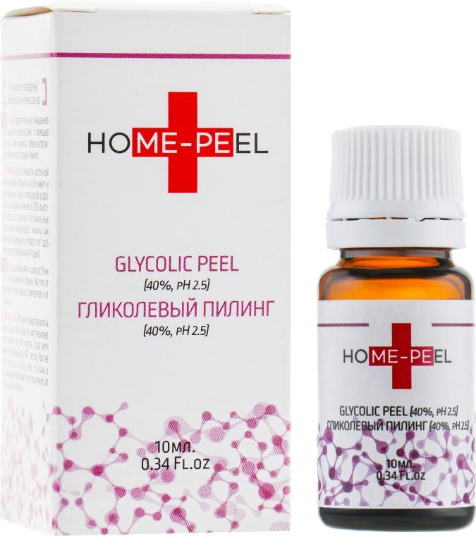 Гликолевый пилинг 40% рН 2,5 - Home-Peel