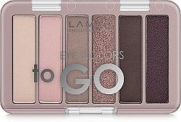 Духи, Парфюмерия, косметика Палетка теней для век - Lamel Professional Eye Colors To Go (тестер)