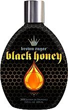 Духи, Парфюмерия, косметика Крем для загара в солярии на основе маточного молочка, 200 бронзантов, быстрый темный загар - Brown Sugar Black Honey 200x