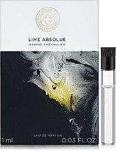 Духи, Парфюмерия, косметика Le Cercle des Parfumeurs Createurs Lime Absolue - Парфюмированная вода (пробник)