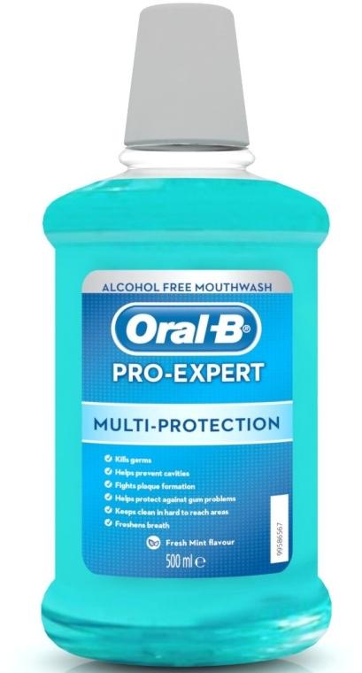"""Безалкогольный ополаскиватель для рта """"Мульти-Защита"""" - Oral-B Pro-Expert"""