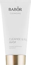 Парфумерія, косметика Маска-пілінг для глибокого очищення пор - Babor Cleanse & Peel Mask