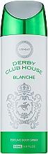 Духи, Парфюмерия, косметика Armaf Derby Club House Blanche - Дезодорант