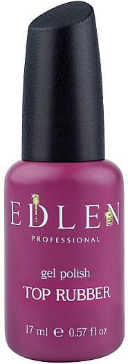 Топ каучуковый для гель-лака - Edlen Professional Rubber Top
