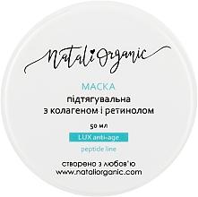 Духи, Парфюмерия, косметика Маска подтягивающая с коллагеном и ретинолом - NataliOrganic