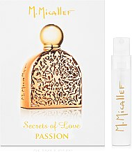 Духи, Парфюмерия, косметика M. Micallef Secrets of Love Passion - Парфюмированная вода (пробник)