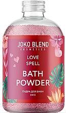 Духи, Парфюмерия, косметика Бурлящая пудра для ванны - Joko Blend Love Spell