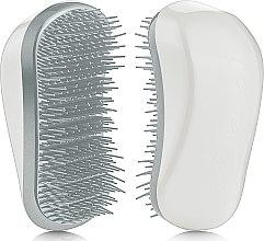 Духи, Парфюмерия, косметика Щетка для волос - Dessata Original White-Silver