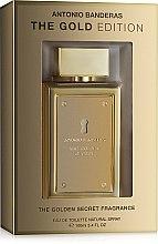 Духи, Парфюмерия, косметика Antonio Banderas The Golden Secret The Gold Edition - Туалетная вода