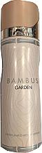 Духи, Парфюмерия, косметика Fragrance World Bambus Garden - Дезодорант