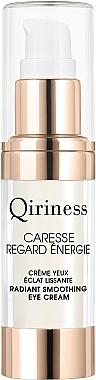 """Разглаживающий крем для контура глаз """"Энергия и сияние"""" - Qiriness Caresse Regard Enegie Radiant Smoothing Eye Cream"""
