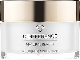 Духи, Парфюмерия, косметика 4D питательный ночной крем для лица - D'Difference Natural Beauty 4D Nourishing Night Cream
